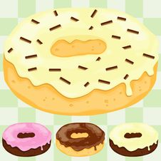 Free The Firbidden Donut! Royalty Free Stock Images - 19035039