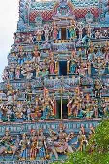 Free Sri Mariamman Temple Royalty Free Stock Photography - 19035607