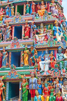 Free Sri Mariamman Temple Stock Photo - 19035610