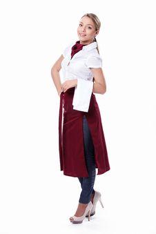 Free Attractive Waitress Stock Photos - 19036693