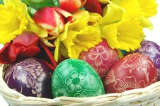 Free Easter Eggs Royalty Free Stock Photos - 19036718