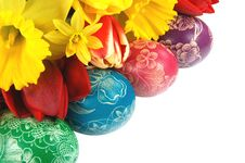 Free Easter Eggs Stock Photography - 19036742