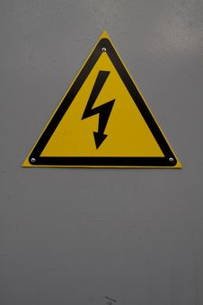 Warning Sign - Electricity