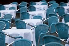 Free Empty Chairs In Restaurant Stock Photo - 19037460