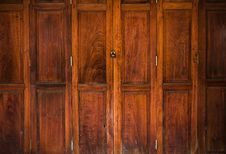 Free Texture Of Old Wood Door Close Royalty Free Stock Images - 19038739