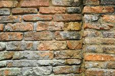 Free Old Brick Wall Royalty Free Stock Photos - 19038778