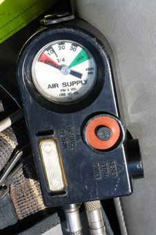 Free Air Supply Gauge Stock Photo - 19039520