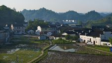 Free China Wuyuan Village  Landscapes Royalty Free Stock Photos - 19039568