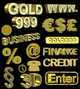 Free Gold Symbols Stock Images - 19040974