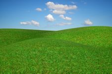 Picturesque Rural Landscape. Royalty Free Stock Photo