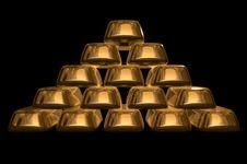 Free Gold Bullions Stock Photo - 19040910