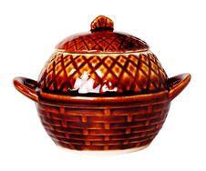 Free Ceramic Pot For Roast. Stock Image - 19041401