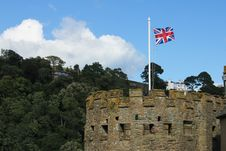 Free British Flag In The Tower Stock Photo - 19042630