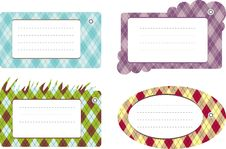 Free Set Of Pattern Cards Stock Image - 19042661