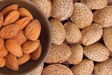 Free Almond Background Stock Photo - 19044680