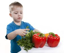 Free Healthy Food Of Children. Stock Photo - 19044730
