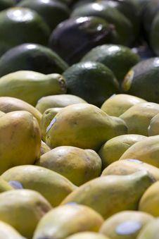 Free Papayas Royalty Free Stock Image - 19045616