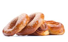 Free Fresh Bread Roll Royalty Free Stock Photography - 19046877
