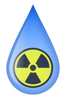 Free Radioactive Water Stock Photography - 19047632
