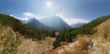 Free Mountain Summer PANORAMA Royalty Free Stock Photo - 19047955