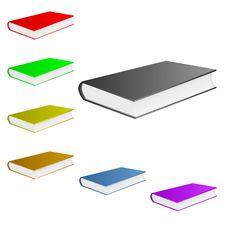 Free Colorful Books. Stock Photo - 19047990