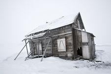 Free Old, Abandoned Wooden Building Royalty Free Stock Photography - 19048137