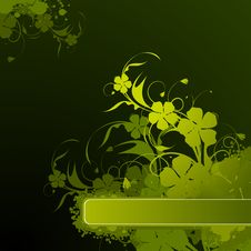 Free Abstract Floral Background Royalty Free Stock Photo - 19048255
