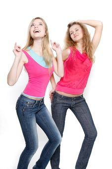 Free Two Young Women Royalty Free Stock Images - 19048499