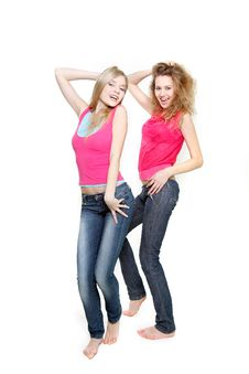 Free Two Young Women Royalty Free Stock Image - 19048516
