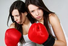 Free Female Boxer Royalty Free Stock Photos - 19048548