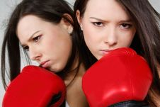 Free Female Boxer Stock Photos - 19048563