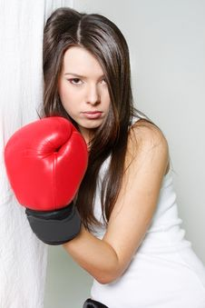 Free Female Boxer Royalty Free Stock Photo - 19048575