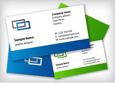 Free Business Cards Stock Photo - 19048590