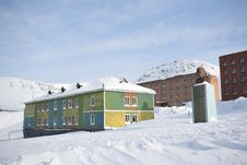Free Barentsburg - Russian City In The Arctic Royalty Free Stock Photography - 19049127