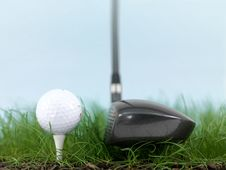 Free Teeing Off Royalty Free Stock Photo - 19049225