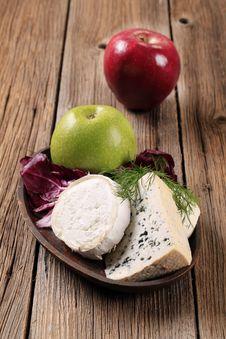 Free Variety Of Cheeses Stock Photo - 19049640