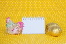 Free Blank Notebook To Insert Your Text Here. Stock Images - 19049744