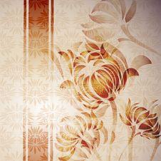 Free Flower Retro Stock Images - 19049864