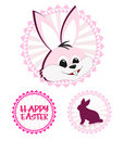 Free Easter Stickers Stock Images - 19050104