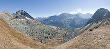 Free Alipne Mountains Landscape Panorama Royalty Free Stock Photo - 19050115