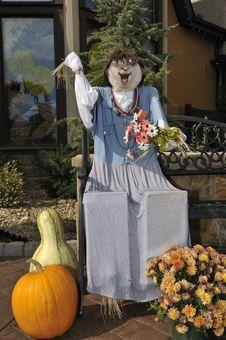 Free Scarecrow Royalty Free Stock Photos - 19050318