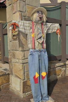 Free Scarecrow Royalty Free Stock Photo - 19050335
