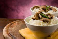Free Risotto With Mushrooms Stock Images - 19051304