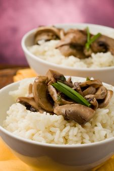 Free Risotto With Mushrooms Royalty Free Stock Photography - 19051307