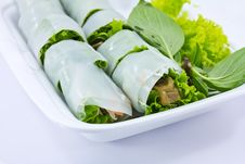 Free Noodle Roll Stock Photography - 19051352