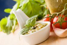 Italian Pesto Royalty Free Stock Photography