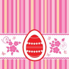 Free Easter Greeting Card. Royalty Free Stock Images - 19051429