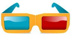 Free 3d Glasses Stock Image - 19052421