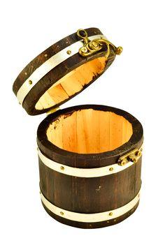 Free Wood Bucket Stock Photo - 19052500