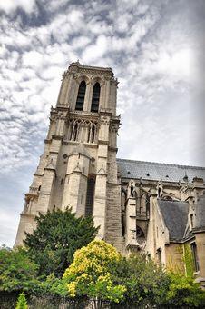 Free Abstract Tower Of Notre Dam Stock Photos - 19052513